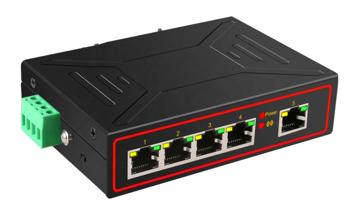 S02 Switch 5 portów Ethernet 10/100MB RJ45 niezarządzalny
